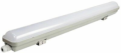 LED Batten Light Tri-Proof Fitting 2ft 4ft Replacement T8 Fluorescent IP66