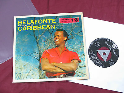 Harry Belafonte  SINGS OF THE CARIBBEAN (1) 7'' EP RCA EPB-1505-1 sehr gut
