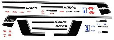 1970 NOVA Special Stripes 1/18th Scale  Waterslide Decals