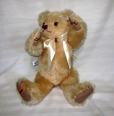 "Harrod's Bear Merry Thought 19"" Plush Growler Bear # 295 Of 1000 Signed"