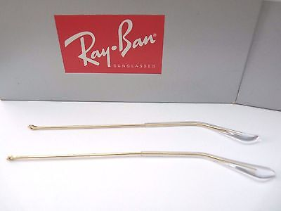 AUTHENTIC NEW 135mm RAY BAN REPLACEMENT GOLD TEMPLES ARMS FOR 3025 AVIATOR