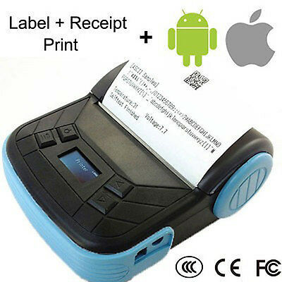 Bluetooth 80mm Thermal POS Receipt Printer for Apple IOS & Android Mobile