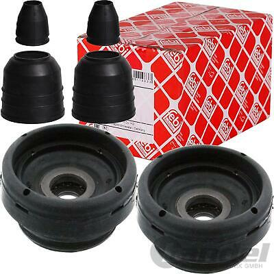 2x FEBI DOMLAGER+STAUBSCHUTZ VORNE VW DERBY 86 86C POLO COUPE POLO CLASSIC