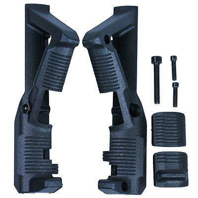 PTS Tactical Angled Foregrip Hand Guard Front Grip for Picatinny Rail GEN 1 / 2