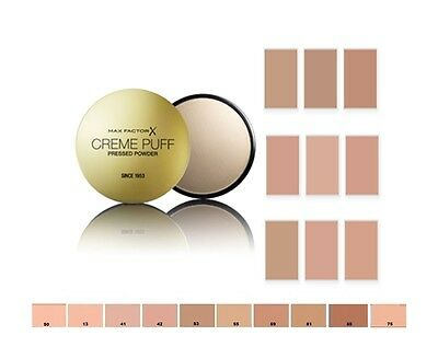 MAX FACTOR CREME PUFF PRESSED POWDER Choose your shade