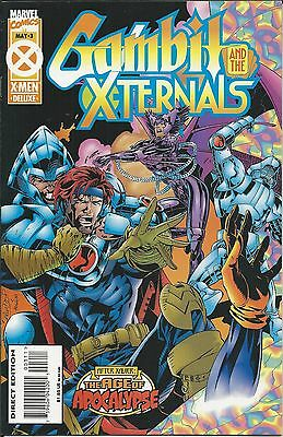 Marvel Gambit and the X-Ternals comic issue 3