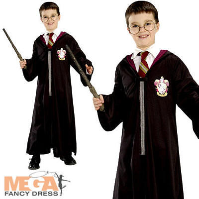 Harry Potter Robe Boys Fancy Dress Wizard Book Week Kids Childs Costume Outfit