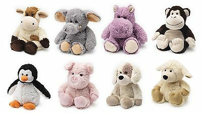 Cozy Plush Cuddly Animals Microwave Heatable Warmers Various by Intelex