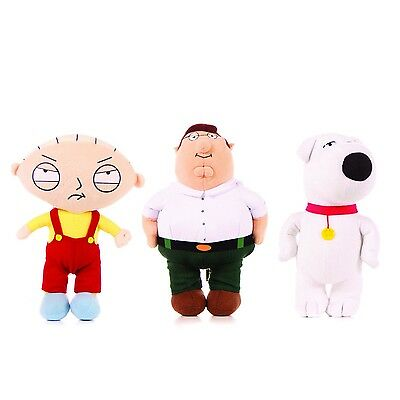 Peluche GRIFFIN Family Guy 18cm SCELTA PETER STEWIE BRIAN Plush Soft Toy Choose