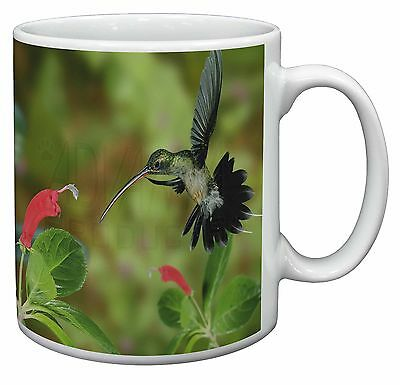 Green Hermit Humming Bird Coffee/Tea Mug Christmas Stocking Filler Gift, AB-95MG