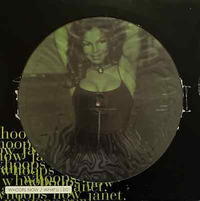 "JANET JACKSON - Whoops Now/What'll I Do (12"" Single) (Picture Disc) (VG/G-)"