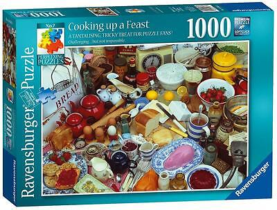 Ravensburger 19583 Perplexing No 7 Cooking up a Feast Jigsaw Puzzles 1000 Piece