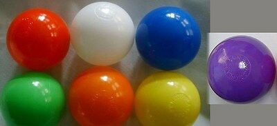 """Playpit Balls 500 Red 3"""" Fda Approved Poly"""