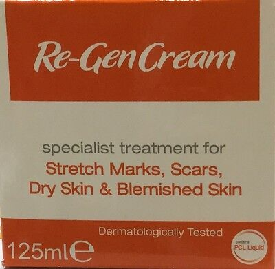 (Two)Re-Gen Cream 125ml for stretch marks, scars, blemished dry skin