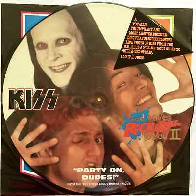 "KISS - God Gave Rock & Roll To You II (12"" Single) (Picture Disc) (EX+/VG)"