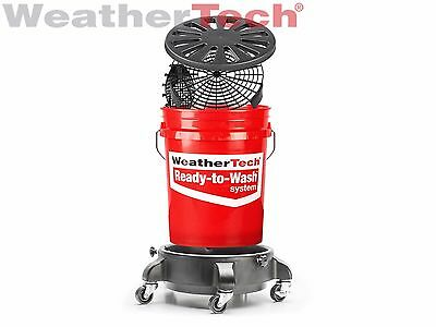 WeatherTech TechCare Ready to Wash Bucket System with GritGrate & MittSaver