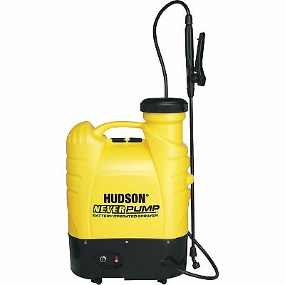 Hudson NeverPump Backpack 12 Volt Garden Sprayer 10hr Battery