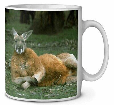 Cheeky Kangaroo Coffee/Tea Mug Christmas Stocking Filler Gift Idea, AK-1MG