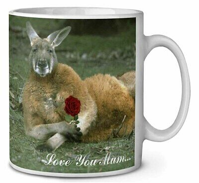 Kangaroo+Rose 'Love You Mum' Coffee/Tea Mug Christmas Stocking Fille, AK-1RlymMG