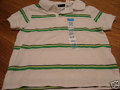 Boys The Childrens Place 6-9 mos Polo shirt NWT NEW months baby Children's