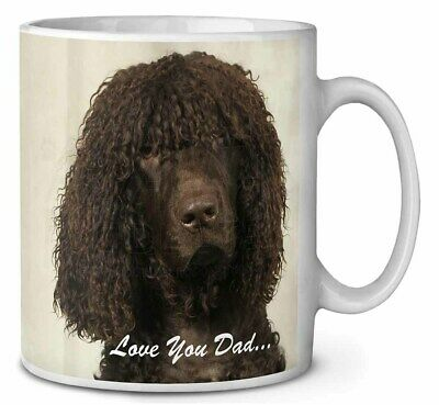 Irish Water Spaniel 'Love You Dad' Coffee/Tea Mug Christmas Stocking F, DAD-59MG