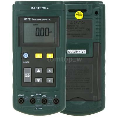 MASTECH MS7221 Loop Process Calibrator Volt/mA DC Current Voltage Digital G1Q8