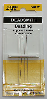 Beading Needles English Made - Size 10