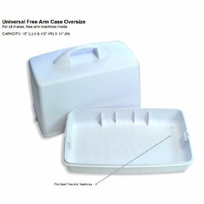 Hard Shell Sewing Machine Carrying Case New