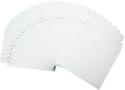 "(25) CD DVD Paperboard Shipping Mailers - Printable Sealable 6"" x 6"" - CDBC06PB"