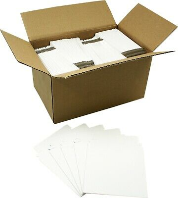 (200) CDBC06PB Paperboard CD Mailer Self Sealing with Flap DVD Media White Mail