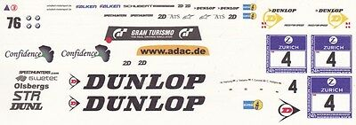 #4 Jorg Viebahn Schubert Racing BWM Z4 2011 1//64th HO Scale Slot Car Decals