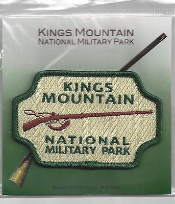 Souvenir Travel Patch - Kings Mountain National Military Park, South Carolina