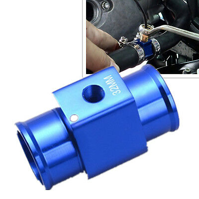 CAR Water Temp Temperature Joint Pipe Sensor Gauge Radiator Hose Adapter (32mm)