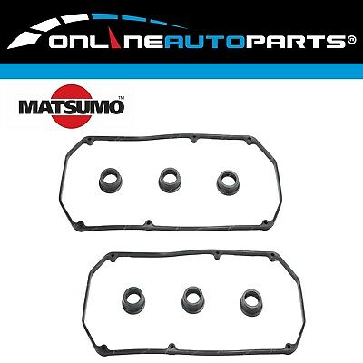 Rocker Valve Cover Gasket set suits Magna TH TJ TL TW 3.5L 6G74 SOHC 1999~2005