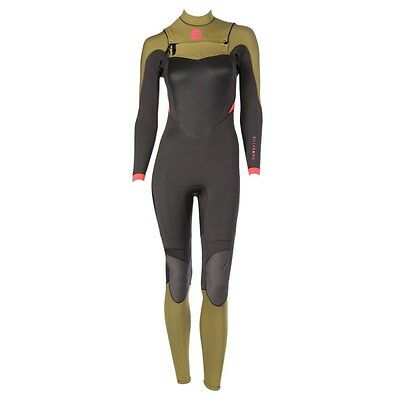 Billabong Synergy 3/2 fullsuit chest zip women's size 10 - new NWT wetsuit