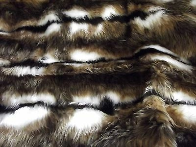 Animal Fun Faux Fur Fabric Material - REINDEER