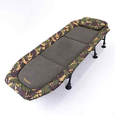Wychwood Carp Fishing NEW Tactical Flatbed Compact Bed Bedchair - Q5010