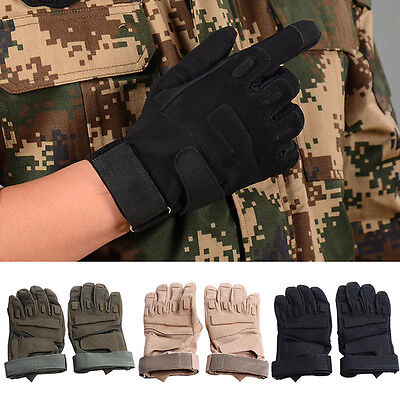 Outdoor Tactical Gloves Military Full Finger Army Gloves Anti-skid Sports Gloves