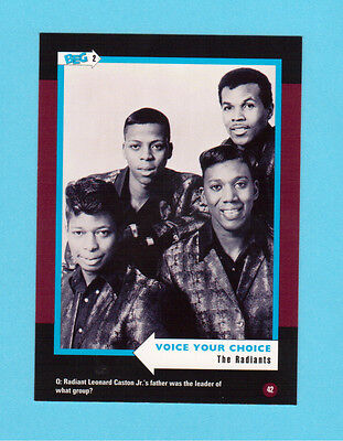 The Radiants  Soul Music Collector Card  Have a Look!
