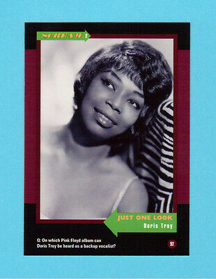Doris Troy Soul Music Collector Card  Have a Look!