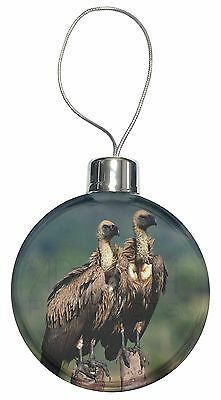 Vultures on Watch Christmas Tree Bauble Decoration Gift, AB-92CB
