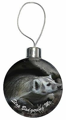 Badgers farm countryside animals collectables 298 for Badger christmas decoration