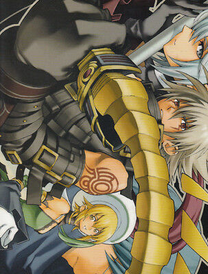 .hack//G.U. The World dot hack Pencil Board Shitajiki Monthly Asuga 2006.1 Haseo