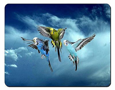Budgies in Flight Computer Mouse Mat Christmas Gift Idea, AB-96M