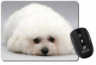 Bichon Frise Dog Computer Mouse Mat Christmas Gift Idea, AD-BF1M