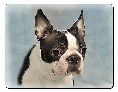 Boston Terrier Dog Computer Mouse Mat Christmas Gift Idea, AD-BT8M