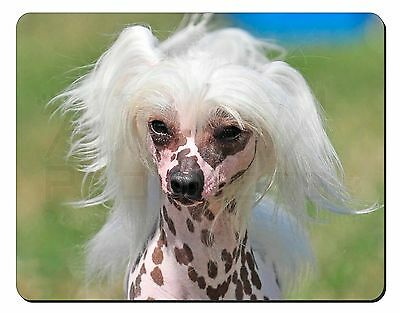 Chinese Crested Dog Computer Mouse Mat Christmas Gift Idea, AD-CHC4M