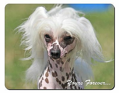 """Chinese Crested Dog """"Yours Forever..."""" Computer Mouse Mat Christmas G, AD-CHC4yM"""