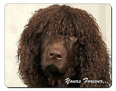 Irish Water Spaniel 'Yours Forever' Computer Mouse Mat Christmas Gift , AD-IWSyM