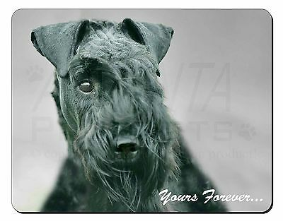 Kerry Blue Terrier 'Yours Forever' Computer Mouse Mat Christmas Gift I, AD-KB1yM